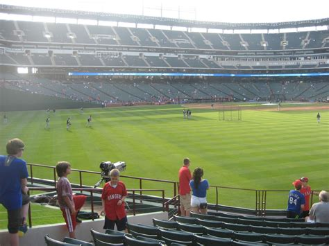 what is section 52 globe life park section 52 rateyourseats com