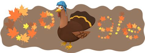 google images of thanksgiving thanksgiving day google logo serves up an animated turkey