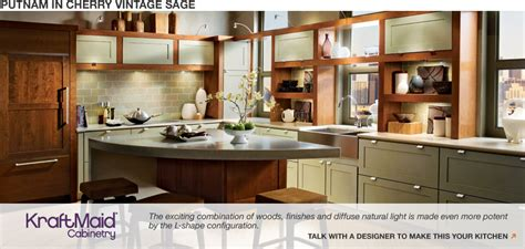 kraftmaid kitchen cabinets home depot cherries home and colors on pinterest