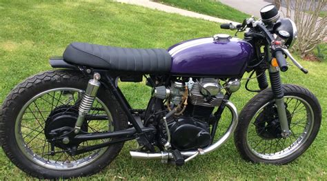 1973 honda cb 350 cafe racer custom for sale