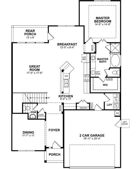 Beazer Homes Floor Plans pin by beazer homes on floor plans pinterest