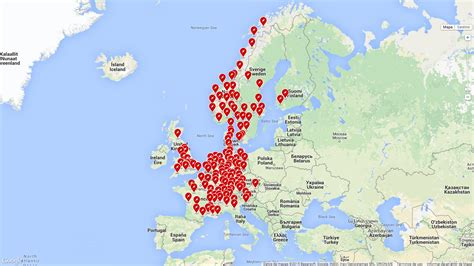 Tesla Supercharger Europe Map Tesla Supercharger Europe Map Thefreebiedepot