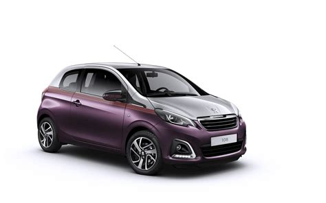 peugeot luxury peugeot reveals new 108 with convertible top and luxury