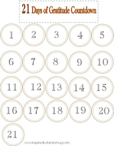 printable countdown calendar template thanksgiving countdown calendar printable calendar