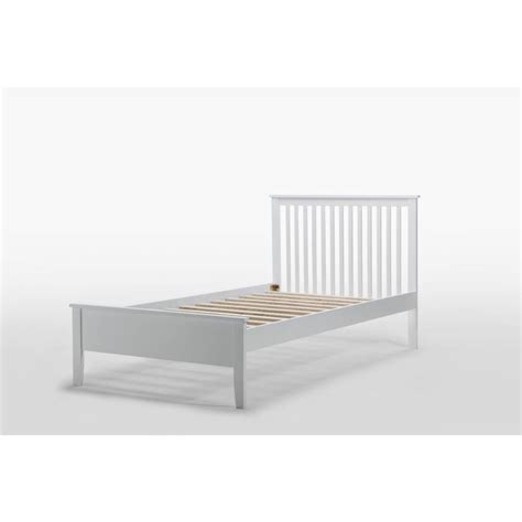 White King Single Bed Frame Venice King Single Rubber Wood Bed Frame White Buy 30 50 Sale