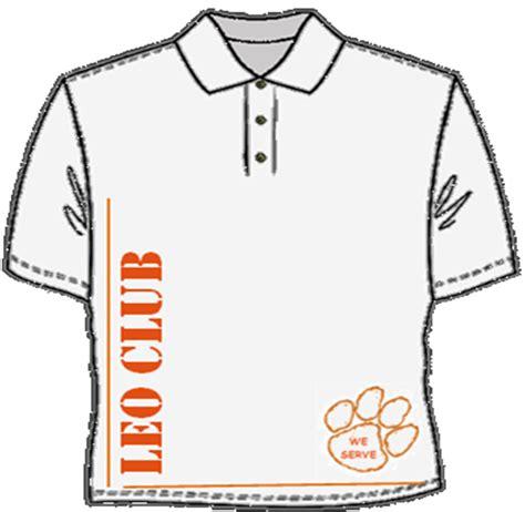 Club Shirt Putih directors club t shirt leo club of sek tanah