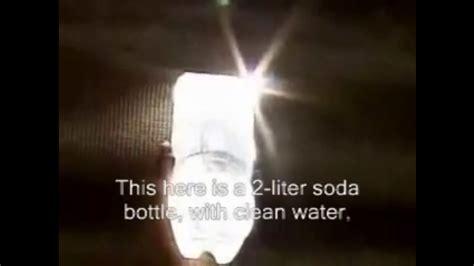 plastic bottle solar light solar lights made of plastic bottles water cleantechnica