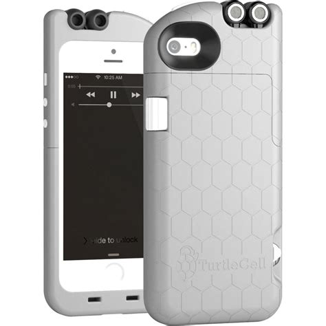 h iphone 5s turtlecell for iphone 5 5s platinum gray 09547 pg b h
