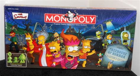 treehouse of horror monopoly sold out simpsons treehouse of horror collector s edition