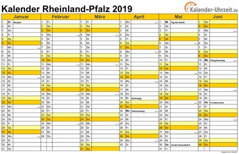 Kalender 2018 Pdf Rheinland Pfalz Feiertage 2019 Rheinland Pfalz Kalender