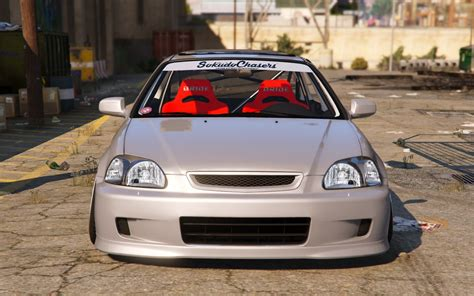 Honda Civic Tuning by Honda Civic Ek9 Stance Tuning Template Gta5 Mods