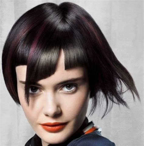 hairnets and bangs pin by short hairstyles on asymmetrical short hairstyles