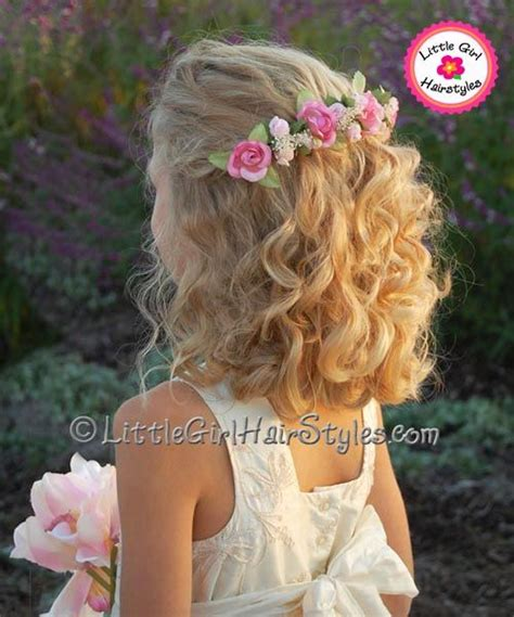 Easy Flower Hairstyles by Flower Hairstyles For Medium Length Hair This