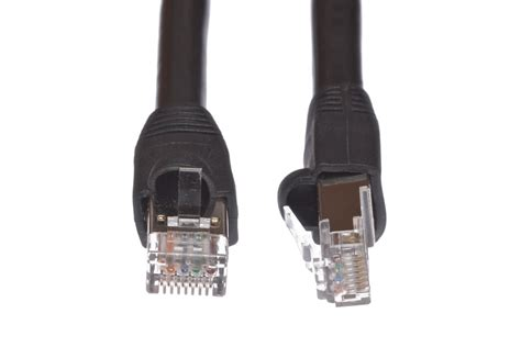 100 Direct Burial Service Cable by 100ft Shielded Cat5e Direct Burial Outdoor Ethernet Cable
