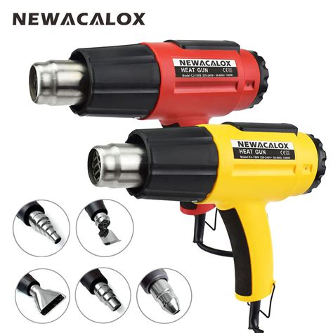 Hair Dryer As A Heat Gun newacalox 1500w 220v eu adjustable heat gun with 5