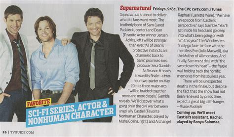 tv guide s supernatural page with tv listings spn tv guide supernatural photo 22516404 fanpop