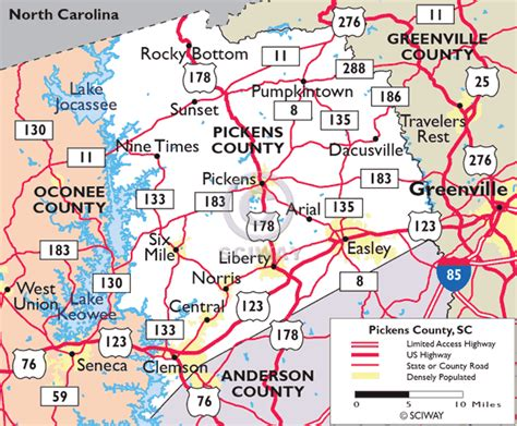 Pickens County Sc Records South Carolina Pickens County 171 Every County