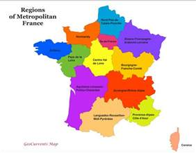 Map Of France Regions by Customizable Maps Of France And The New French Regions
