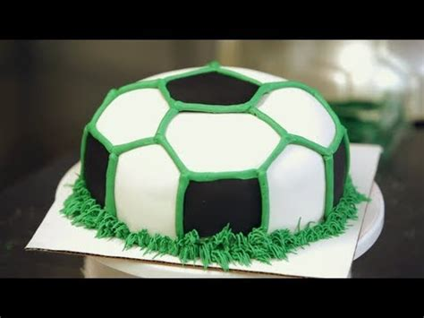 Football Cake Decorations Buttercream Grass For Soccer Ball Cake Birthday Cakes