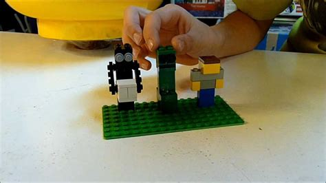 How To Make A Minecraft Steve Out Of Paper - lego minecraft steve figure how to build easy build