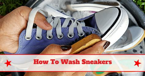 simple and fast how to wash sneakers
