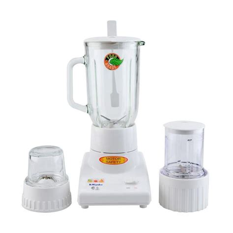 jual miyako bl 102gs 3in1 glass blender white