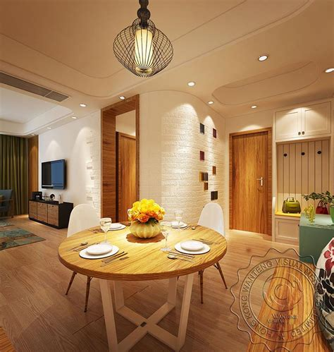 china dining room design night rendering download 3d house simple modern style sittingroom interior rendering design