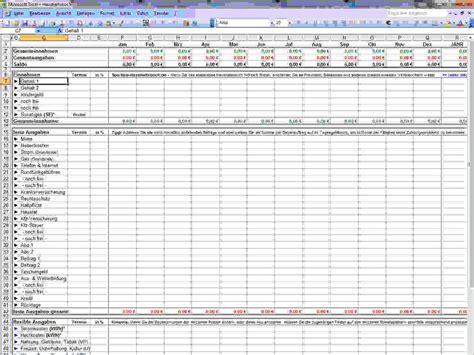 Vorlage Kostenlos Haushaltsbuch 7 Haushaltsbuch Vorlage Templated