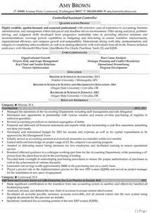 Financial Controller Resume Sle by Auditor Exle Resume