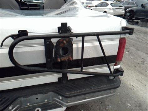ford bronco spare tire rack