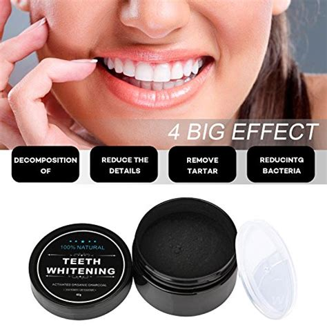 iwotou teeth whitening charcoal powder natural activated