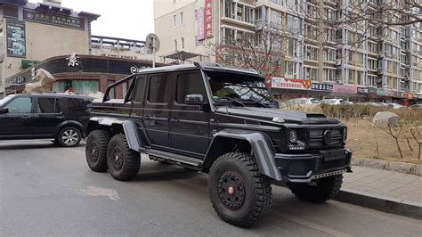Mercedes G63 Amg 6x6 by The Mercedes G63 Amg 6x6 Is The Embodiment Of