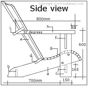 adirondack chair project metric version instructions