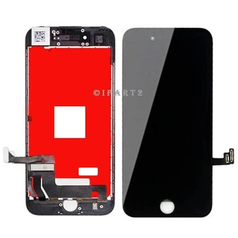 lcd display touch screen digitizer frame assembly for iphone 7 plus 5 5 black