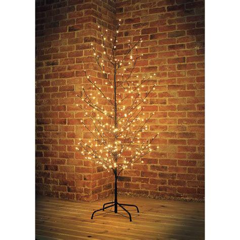 b m black led twig christmas tree 6ft artificial tree xmas