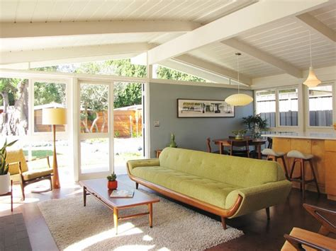Mid Century Modern Living Room Ideas by My Houzz A Mid Century Marvel Revived In Long Beach
