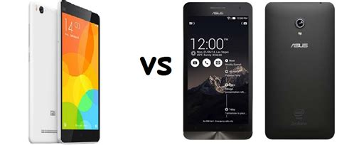 Hp Xiaomi Vs Asus perbandingan bagus mana hp asus zenfone 6 vs xiaomi mi4
