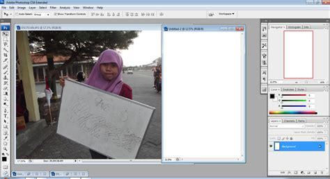 cara edit foto adobe photoshop fitria mustika dewi cara mengedit foto sederhana dengan