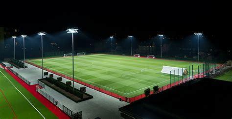 arsenal academy hale end training academy arsenal football club led