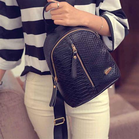 Tas Ransel Mini Korea tas ransel mini korea untuk wanita black