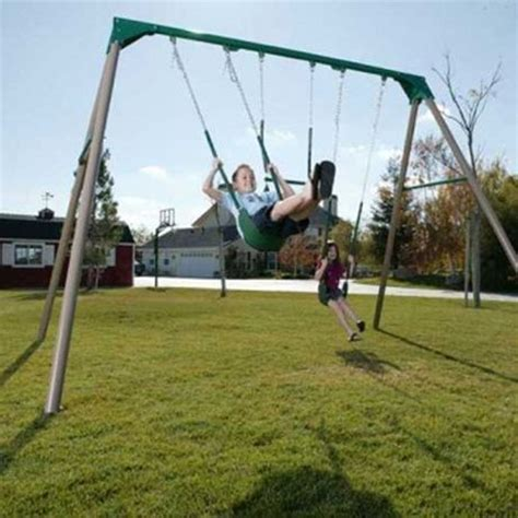 lifetime swing set canada lifetime earth tone swing set walmart canada