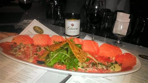 Brio Palm Gardens by Mouthwatering Beef Carpaccio Amd A Bottle Of Estancia To Celebrate Our Engagement Yelp