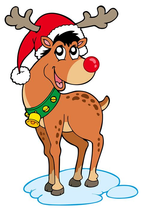clipart rudolph red nosed reindeer clip art library
