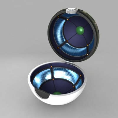 Pokeball Interior by Safari 3d Max