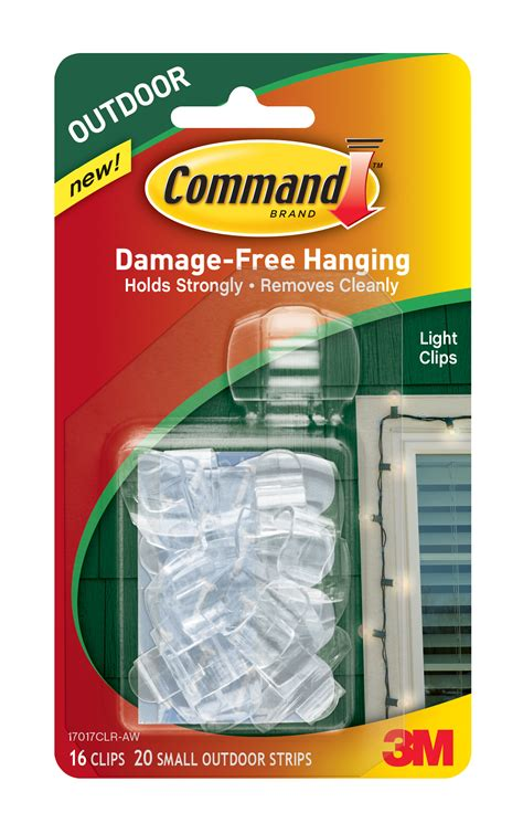 command outdoor light clips 3m introduces new command outdoor decorating products 3m