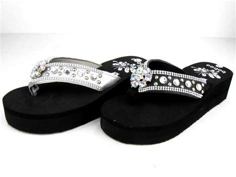 s sandals with bling western s bling summer flip flops sandals