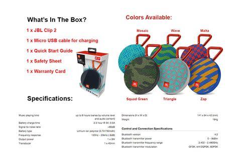 Jbl Bluetooth Speaker Clip 2 Special Edition Zap jbl clip 2 ultra portable waterproof bluetooth speaker limited edition