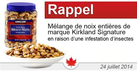 Marque Signature Avis by Rappel De M 233 Lange De Noix Enti 232 Res De Marque Kirkland