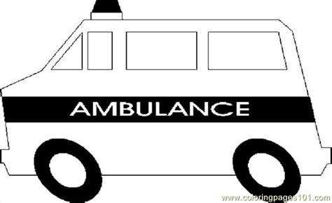 ambulance coloring page free coloring pages ambulance 02 transport gt special transport