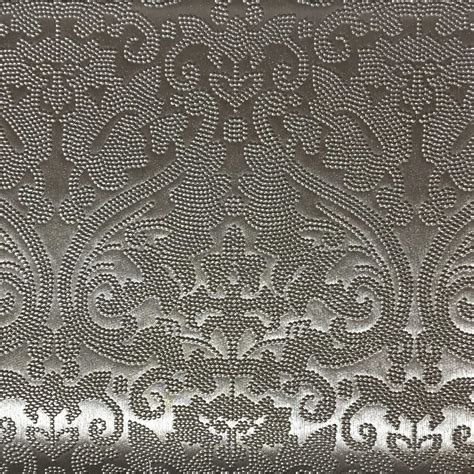 pvc upholstery fabric lyon embossed damask pattern vinyl upholstery fabric by